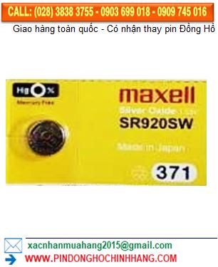 Pin Maxell SR920SW _Pin 371