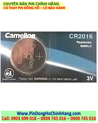 Pin Camelion CR2016 _Pin CR2016