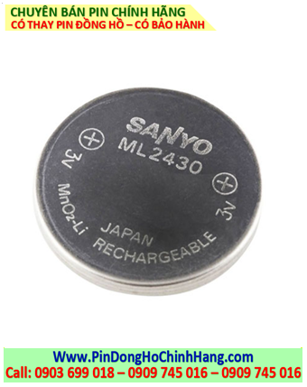 Sanyo ML2430; Pin sạc 3V lithium