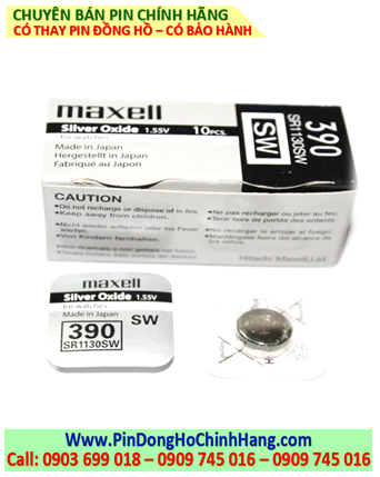 Pin Maxell SR1130SW _Pin 390
